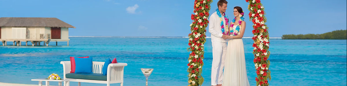 Headline for List of things you must have for an Island wedding in Maldives