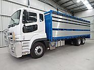 New Fuso FV54 Stock/Cattle Crate for sale