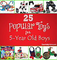 25 Popular Toys for 5 Year Old Boys