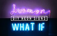DIY NEON SIGN DECOR | THE SORRY GIRLS