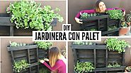 DIY Jardinera con palet - Coco Alternativo