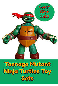 Teenage Mutant Ninja Turtles Toy Set Gift Ideas - Kims Five Things