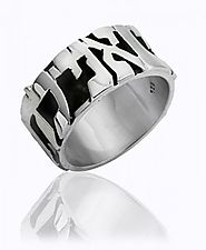 Silver Hebrew Rings for Men | Hebrings.com