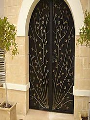 wrought iron driveway gates - Extraordinary look
