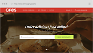 Develop an Online Food Ordering Website using our script - OFOS - Just Eat Clone Script