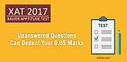 XAT 2017: Unanswered question can deduct your 0.05 marks