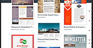 Awesome Free Templates for Creating Educational Magazines, Brochures and Newspapers