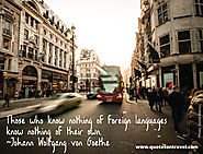 Inspirational Travel Quote by Johann Wolfgang - Quotes on Travel