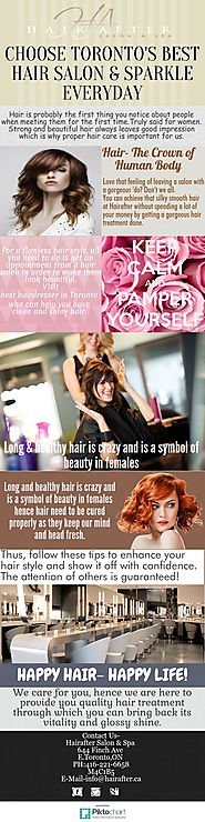 Look Forever Young With Toronto Hair Salon