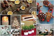32 Homemade Eco-Friendly Christmas Decorations That Look Stunning
