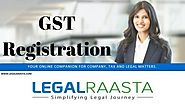 GST Registration online | GST Registration process in India