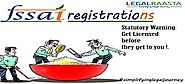 FSSAI registration | Food License Online consultant | LegalRaasta