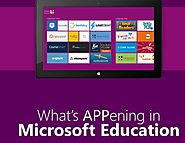 What's APPening in Microsoft Education