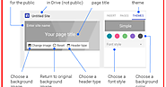 Teachers Guide to Creating and Publishing Websites Using The New Google Sites