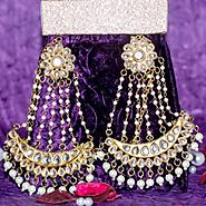 latest designs of kundan jewelry online