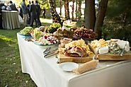 Food Truck Catering For A Relaxed Outdoor Wedding