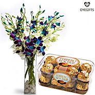 Flowers & Chocolates for Couples that enjoy