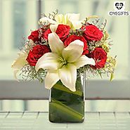 How about Flowers in Glassvase