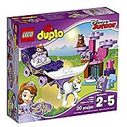 LEGO DUPLO Disney Sofia the First Magical Carriage Building Kit (30 Piece)
