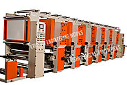 Rotogravure Printing Machine, Slitting Rewinding Machine