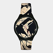 Pollock Black & White Watch