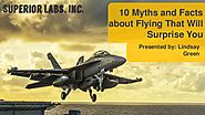 10 myths and facts about flying