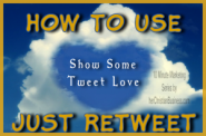 10 Minute Marketing - How to Use JustRetweet (Review) | herChristianBusiness.com