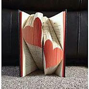 Bookish Love Art Heart