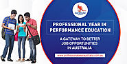 Professional Year in Performance Education - A Gateway to Better Job Opportunities in Australia