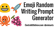 Emoji Writing Prompt Generator with Google Sheets