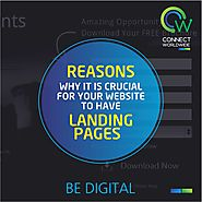 Reasons Why it is Crucial for Your Website to Have Landing Pages!