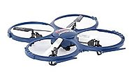 Awesome Cool UDI RC Discovery 2.4GHz 4 CH 6 Axis Gyro RC Quadcopter with HD Camera RTF