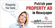 Property Advertisement in Newspapers