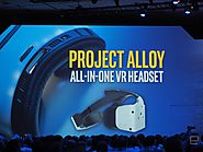 "Intel's Project Alloy wireless headset aims to bring ""Merged Reality"""