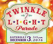 Dec 3rd - Twinkle Light Parade 2016