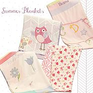 Shop Summer Baby Blanket Online At Little West Street