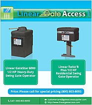 Use Swing Gate Operator For Security And Comfort!