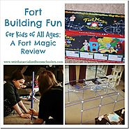Fort Building Fun for Kids of All Ages: A Fort Magic Review - Weird Unsocialized Homeschoolers