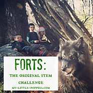 Forts: The Original STEM Challenge | My Little Poppies