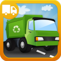 Trucks Builder - Things That Go Preschool Learning Shape Puzzle Game