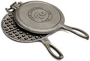 Best Cast Iron Waffle Makers for Camping – without Teflon or Non-stick Coating