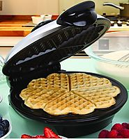 Euro Cuisine WM520 Eco Friendly Heart Shaped Waffle Maker Review – PTFE and PFOA Free Non Stick Plates