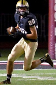 (CA) DB/WR Alex Sloan (Archbishop Mitty) 6-3, 180
