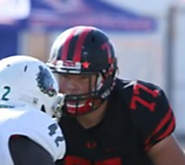 (CA) OL Brandon Mello (Clayton Valley Charter) 6-7, 295