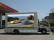 Mobile Vehicle Advertising | Advertising Display Cube