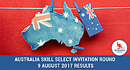 SkillSelect Invitation Round Update August 2017