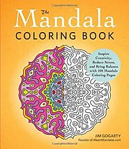The Mandala Coloring Book by Jim Gogarty