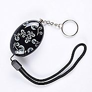 Delicate Printing Emergency Personal Alarm Keychain/the Wolf Alarm/Elderly/kids Safety/Attack/Protection/Self Defense...
