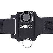 SABRE Runner Personal Alarm - 130dB (1,000 Feet/300M Range) with Adjustable/Reflective/Weather-Resistant Wrist Strap ...