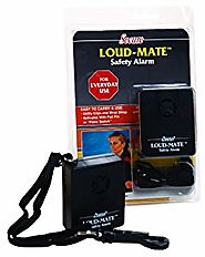 Secure Loud-Mate Panic Emergency Alarm for Personal Safety - Hand-Held or Belt Clip - One Year Warranty